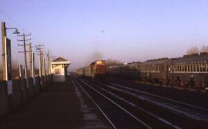LONG-ISLAND-Railroad-Locomotive-Train-Station-Original-1968-Photo-Slide