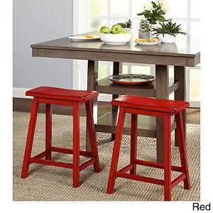 La Foto Se Está Cargando Saddle Seat Stool 24 In Counter Bar Stools