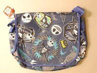 Disney The Nightmare Before Christmas Blue Messenger Bag Jack Skeletal