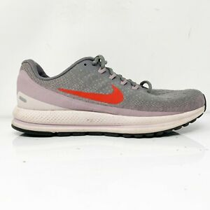 Nike-Womens-Air-Zoom-Vomero-13-922909-004-Gray-Red-Running-Shoes-Size-9-5