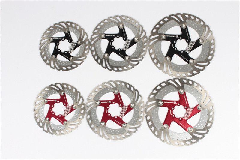 MTB Road Bike Bicycle Disc rossoor 6 Holes Floating Disc Brake rossoor 160180203mm
