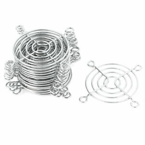 uxcell 2 Pcs Metal Wire Finger Guard Protect Grill for 60mm PC Cooling Fan