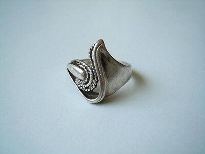 Brave Geprüfter Silber Ring Ohne Stempel Mit Schönen Verzierungen 4,9 G/rg 53 Precious Metal Without Stones Fine Rings
