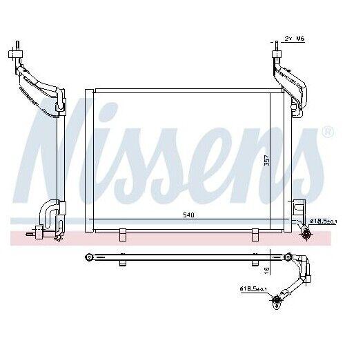 Condensateur Pour Climatisation Climat Condensateur climat Refroidisseur Nouveau NISSENS 940540