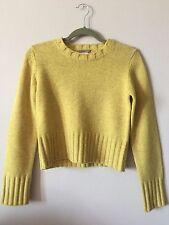 J. Crew 100% Wool Sweater (Mustard Yellow)