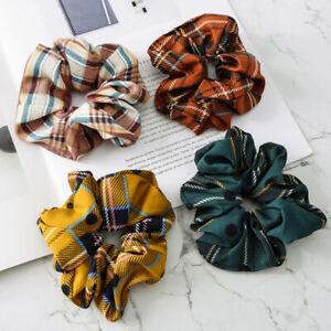 Ladies-Hair-Band-Scrunchie-Ponytail-Elastic-Hair-Bands-Ties-Rope-Headwear-Retro