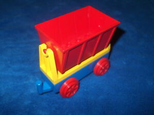 Lego Duplo Chemin de fer grand Kipplore Wagon Kipplore wagon cirque ancien modèle  </span>