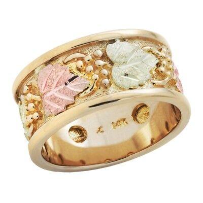 landstroms k black hills gold mens wedding ring size
