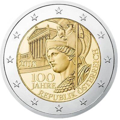 NEW ISSUE BIMETAL 2 EURO UNC COIN 2016 YEAR 200th ANNI AUSTRIAN BANK AUSTRIA