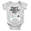 miniature 1 - Player 2 Entered The Game Babygrow Video Gaming 2nd Baby Son Gift Present