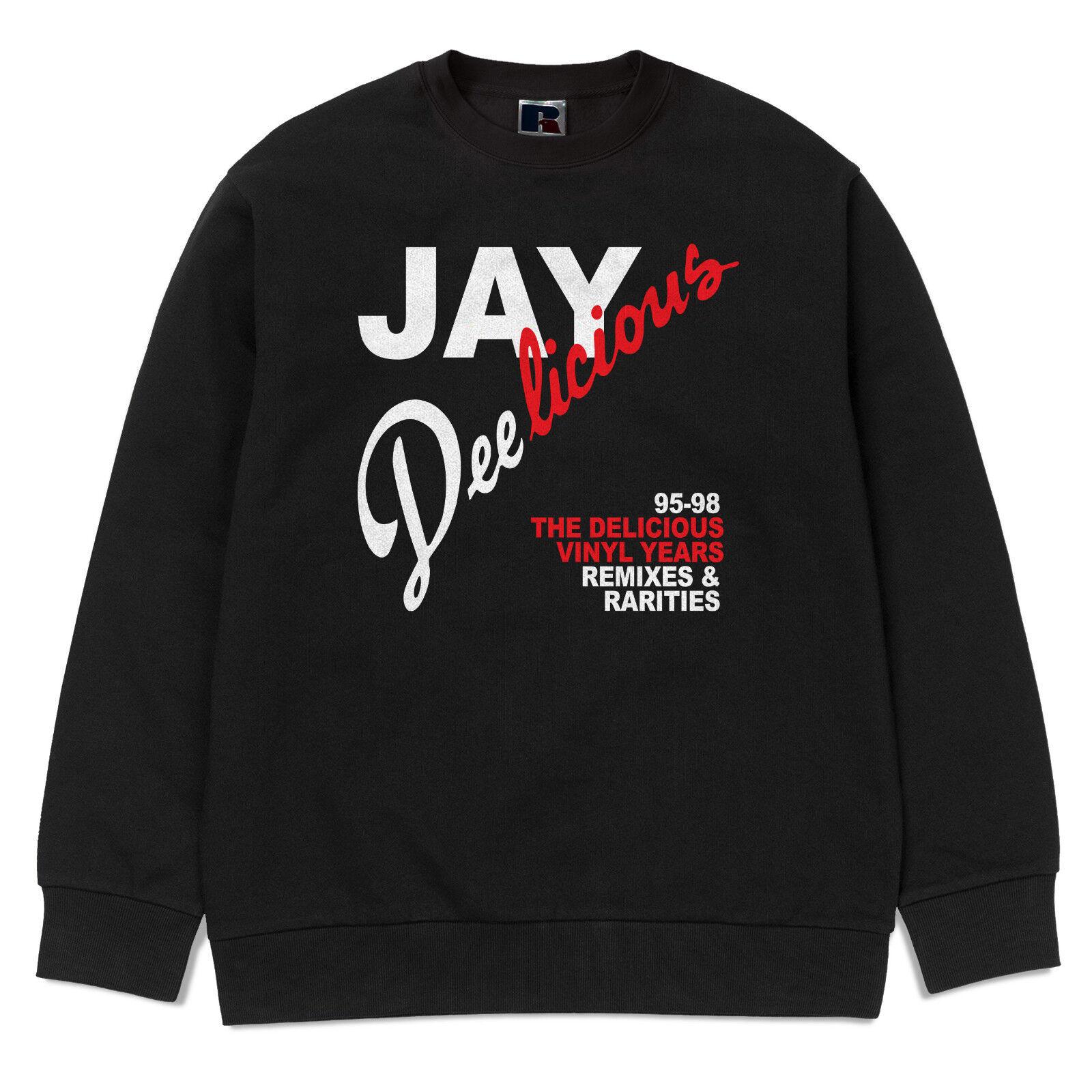 J Dilla Sweatshirt - Hip Hop, Jay Dee LICIOUS, Jay Dee, Detroit Rap Sweatshirt