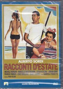 Dvd RACCONTI D'ESTATE con Alberto Sordi Marcello Mastroianni nuovo 1958