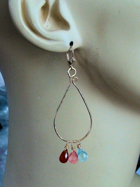 XXL Looped Hoop Add Ons to Enhance Our INTERCHANGEABLE Earring Charms RG YG SS