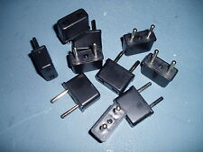 US to EU AC Power Plug Travel Converter / Adaptor Plugs