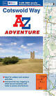 Cotswold Way Adventure Atlas by Geographers' A-Z Map Company (Paperback, 2013)