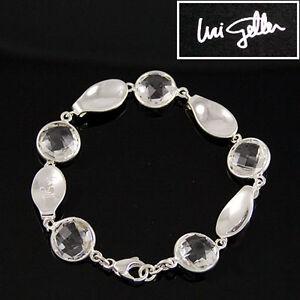 Uri-Geller-Armband-Damenarmband-aus-925er-Silber-Sterlingsilber-Bergkristall