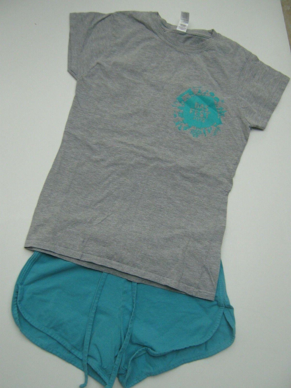 Set*Shorts + T-Shirt*Damen Gr. S*36*38*Shirt*Hose*Freizeit*Jerseyhose*Hotpans*