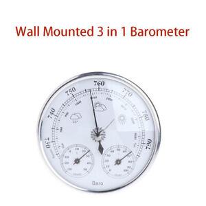 Barometer Indoor 3In 1 Outdoor Hygrometer Weather Station High Weather Forecast
