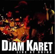DJAM KARET: Live at Orion (1999) CUNEIFORM RECORDS Neu