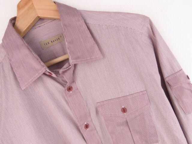 nv499 Ted Baker Camisa top Tiras ORIGINAL PREMIUM Tamaño 2