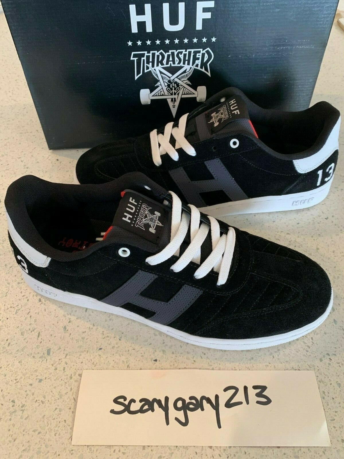 HUF X Thrasher Arena Low sz 12 1st collab 2013