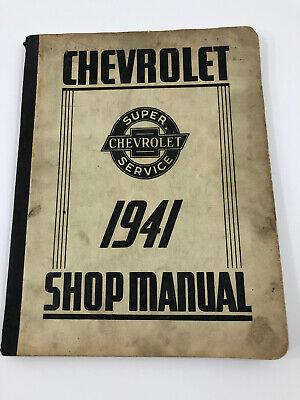 1941 CHEVROLET CAR TRUCK Shop Service Repair Manual
