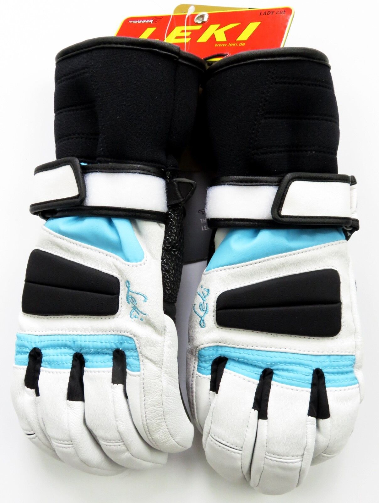 NEW  150 Leki  Womens Griffin Waterproof Leather Ski G s Winter Ladies White  trendy