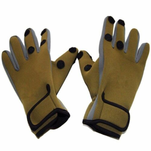 Fishing Gloves Full Finger Leather Waterproof Outdoor Sports Hunting Equipment