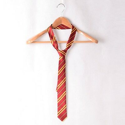 Harry Potter Adult Tie Ravenclaw/Hufflepuff/Gryffindor/Slytherin House Necktie