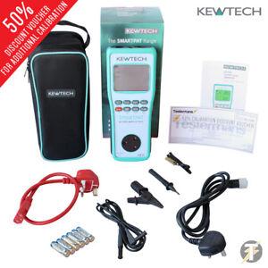 Kewtech-SMARTPAT-battery-operated-PAT-Tester-and-230V-110V-Run-Leakage-Test