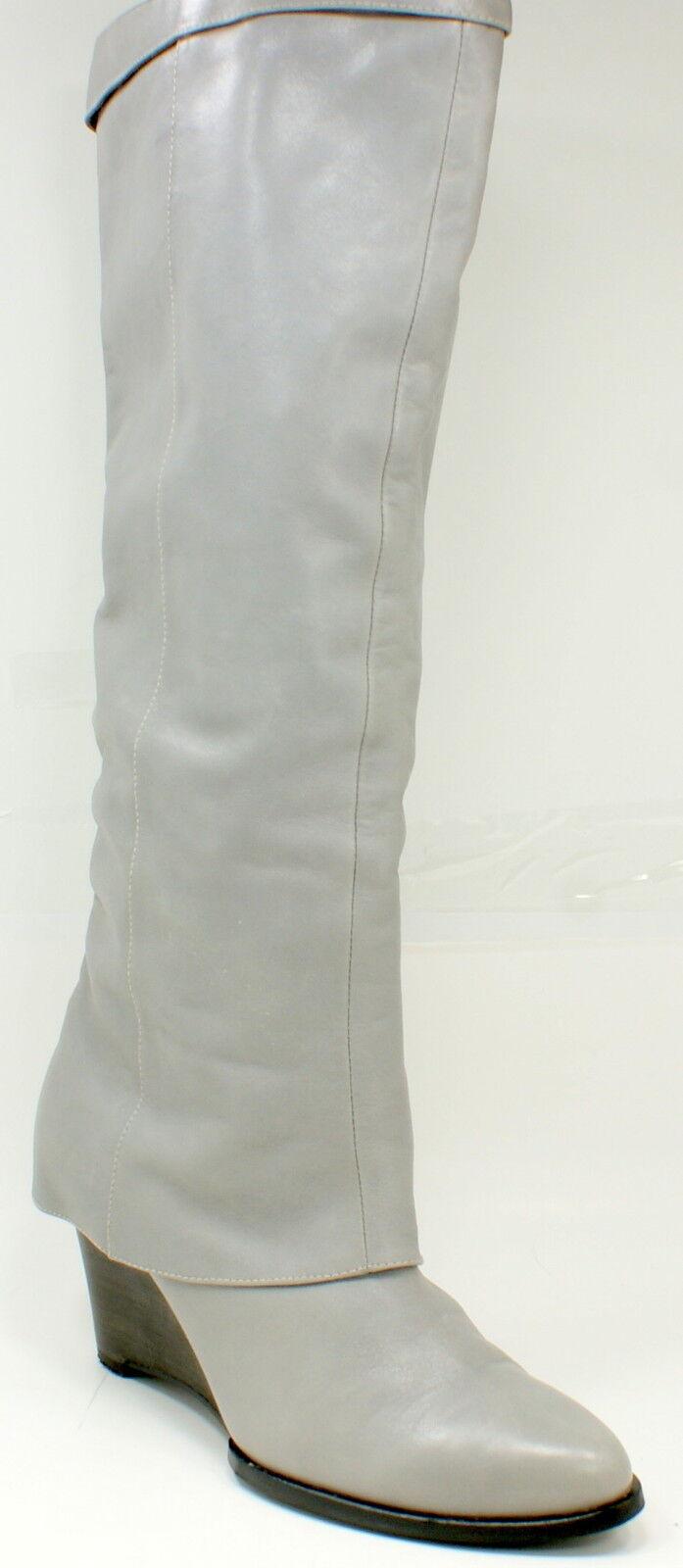 B. makowsky makowsky makowsky Ariana Para mujeres Alto a La Rodilla gris Cuero botas Talla 9.5 M  ventas de salida