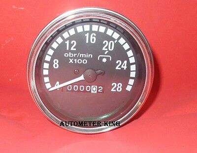 Mechanical Tachometer 85 mm Size with M18X1.5 Thread Connection