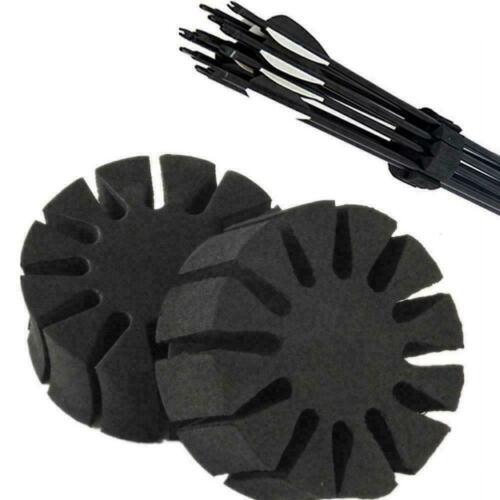 Black EVA Sponge Foam Bow And Arrow Splitter Protective Quality High Frame G2Y4