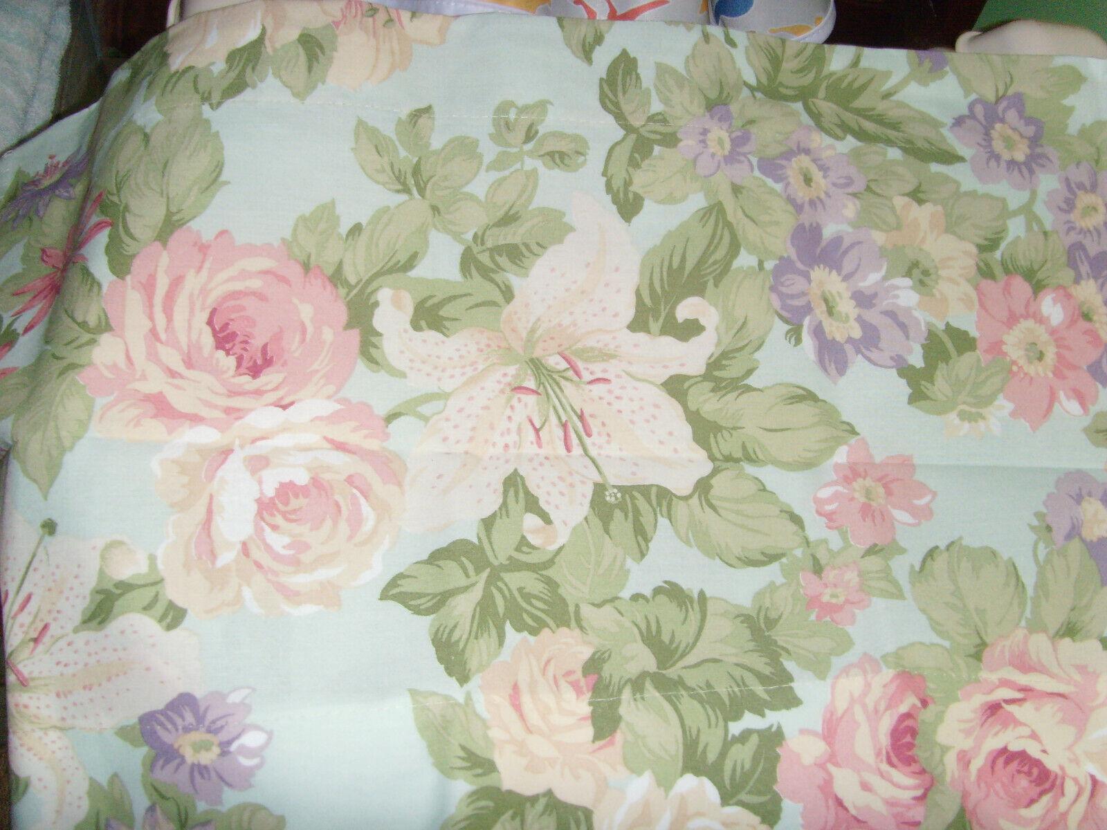 Martha Stewart Pastel Floral Wallpaper Border Passion Flower W