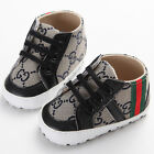 Cute Soft Sole Baby Boy Girl Black Toddler Shoes for 0-18Month