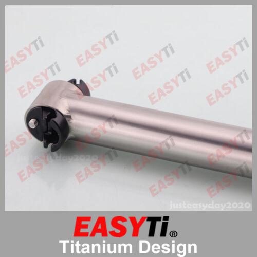 EasyTi //Titanium  Seatpost 31.6mm for  Folding bicycle
