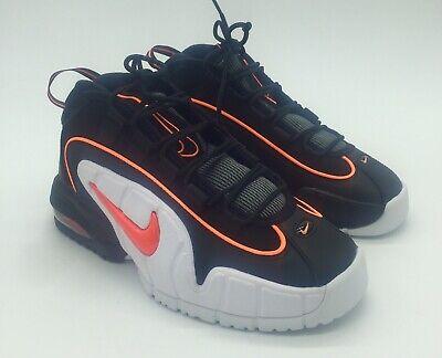 Nike Air Max Penny 1 Sz 6 Men Black Total Orange White Men's 685153 002 New | eBay
