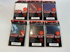 Hyper Mat Clear  ×5 set KMC Card-Barrier Matte 80pcs sleeves 400 sleeves