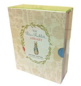 Beatrix-Potter-Peter-Rabbit-Library-Coloured-Jackets-10-Books-Collection-Box-New