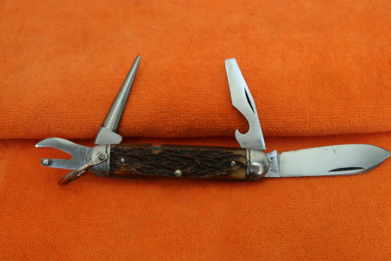 Vintage Ulster Knife Co Camp Knife ~ Excellent Original ~ ca. 1940's