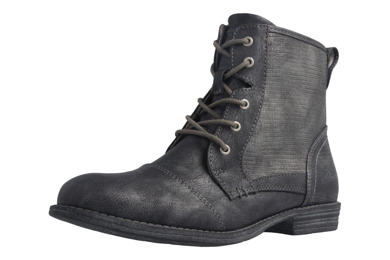 94f6c3fd711a Mustang Schuhes Damenschuhe Stiefel in Übergrößen große Damenschuhe Schuhes Grau  XXL f1aa49