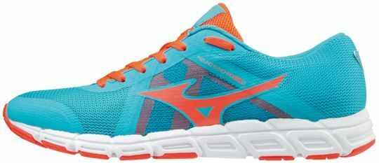 Synchro SL2 Ladies running trainers bluee Atoll   Fiery Coral   White uk s