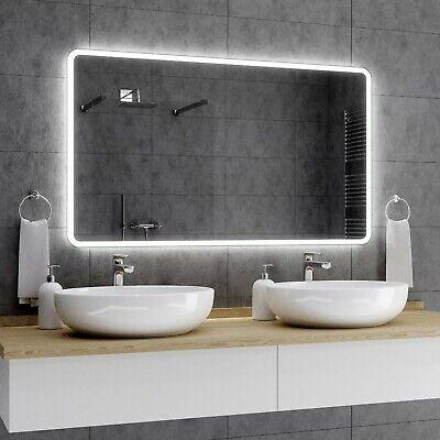 Badezimmerspiegel Led.Osaka Badezimmerspiegel Led Badspiegel Lichtspiegel Wandspiegel Spiegel Mass A01 Ebay