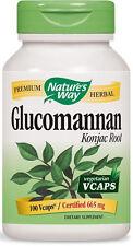 Glucomannan Konjac Root - 100 VCaps - Nature's Way