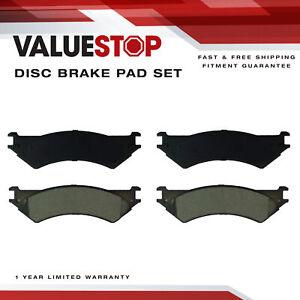Rear Brake Rotor /& Semi-Metallic Pad Ford E-350 Super Duty E-250 E-150 Econoline