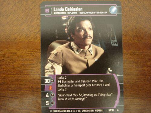 I Star Wars Tcg ROTJ 4x Lando Calrissian