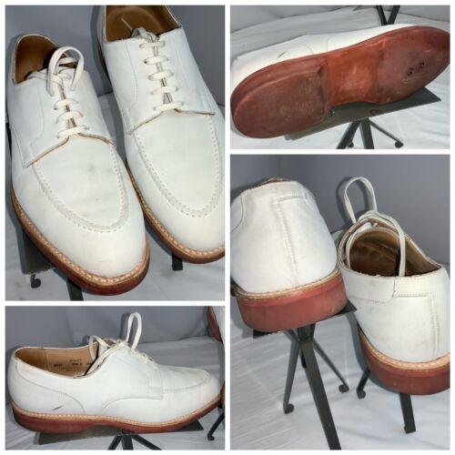 Crockett & Jones Onslow Bucks Shoes Sz 10.5 Men Wh