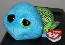 """Ty Beanie Boos - CARA the 6-8"""" Turtle ~ SeaWorld Exclusive ~ 2017 NEW ~ IN HAND"""