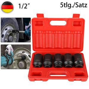 """Vielzahn Nuss Kraft Steckschlüssel Antriebswellen Werkzeug 12-kant 30//36mm 1//2/"""""""