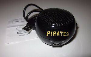 PITTSBURGH-PIRATES-Portable-MINI-SPEAKER-USB-SGA-NEW-5-22-16